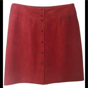 Beautiful Suede Jones New York Signature Skirt
